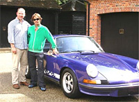 Jay Kay and his new Porsche RS