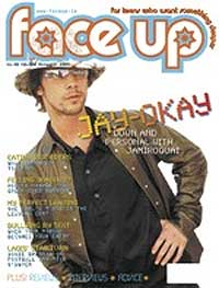 Face Up magazine cover - November 2005 issue